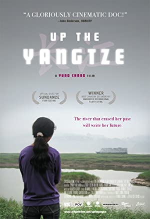 movie poster of Up the Yangtze