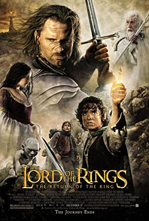 movie poster of The Lord of the Rings: The Return of the King