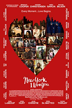 movie poster of New York, I Love You
