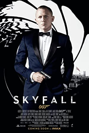 movie poster of Skyfall