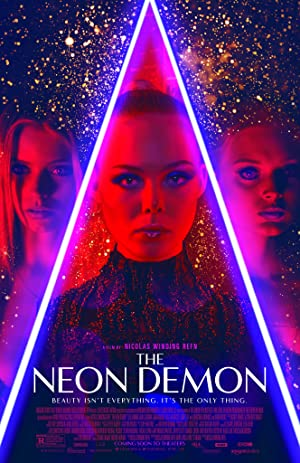 movie poster of The Neon Demon