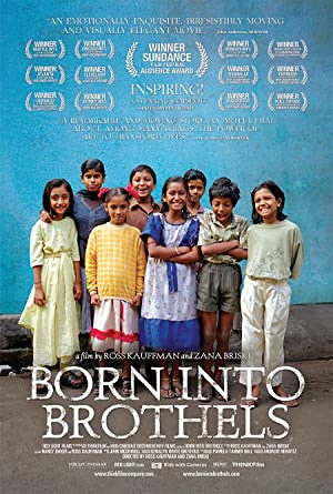 movie poster of Born Into Brothels: Calcutta's Red Light Kids