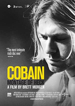 movie poster of Cobain: Montage of Heck