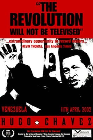 movie poster of The Revolution Will Not Be Televised