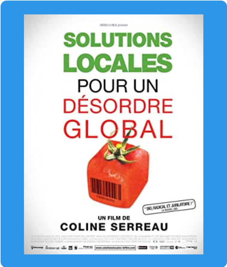movie poster of Solutions locales pour un désordre global