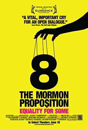 movie poster of 8: The Mormon Proposition