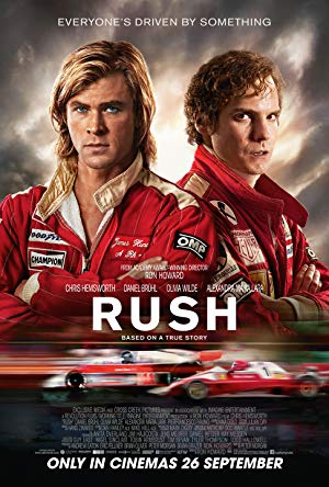 movie poster of Rush