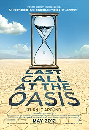 movie poster of Last Call at the Oasis