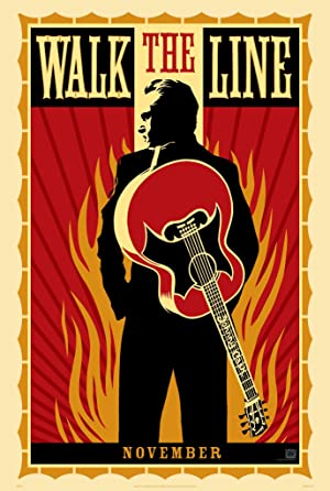 movie poster of Walk the Line