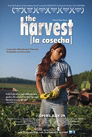 movie poster of The Harvest/La Cosecha