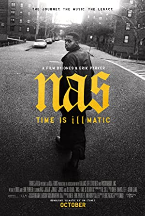 movie poster of Nas: Time Is Illmatic