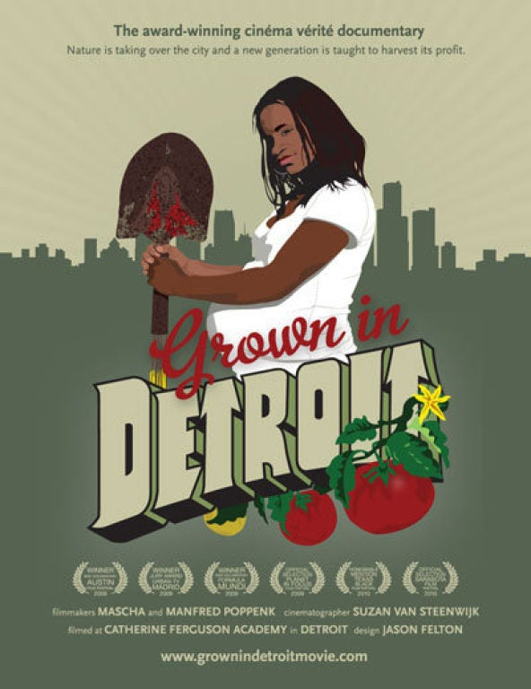 movie poster of Grown in Detroit/Teen Moms Become Urban Farmers