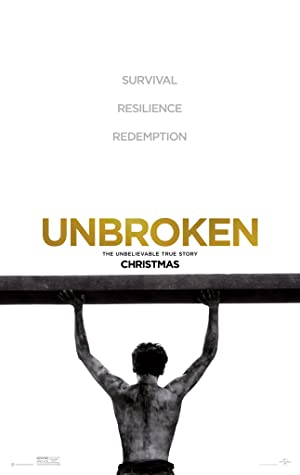 movie poster of Unbroken