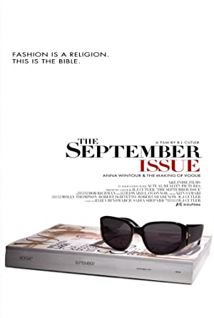 movie poster of The September Issue