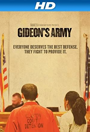 movie poster of Gideon's Army