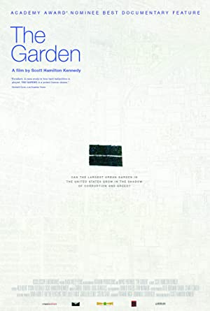 movie poster of The Garden
