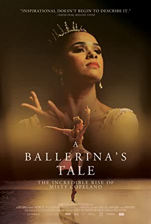 movie poster of A Ballerina's Tale