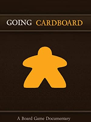 movie poster of Going Cardboard: A Board Game Documentary