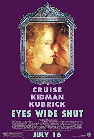 movie poster of Eyes Wide Shut