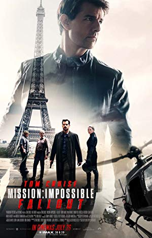 movie poster of Mission: Impossible - Fallout
