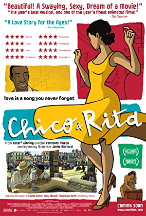 movie poster of Chico y Rita