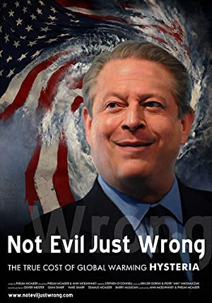 movie poster of Not Evil Just Wrong