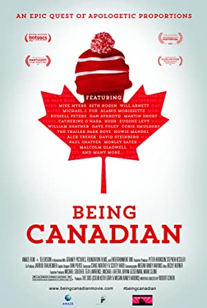 movie poster of Being Canadian