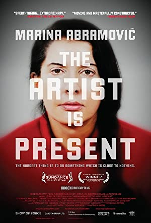 movie poster of Marina Abramovic: The Artist Is Present