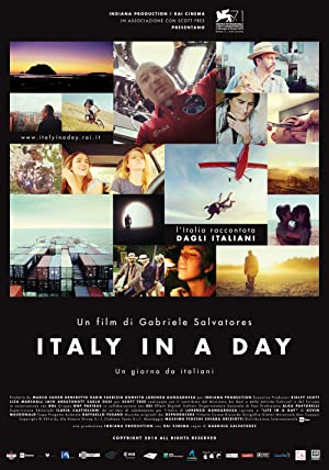 movie poster of Italy in a Day