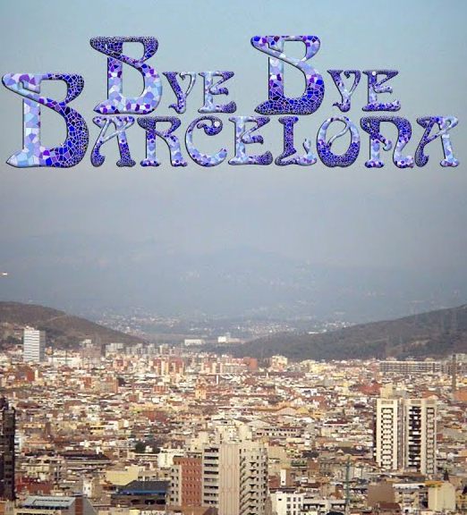 movie poster of Bye Bye Barcelona