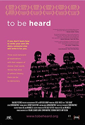 movie poster of To Be Heard
