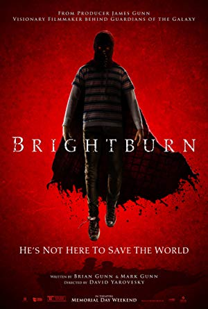 movie poster of Brightburn