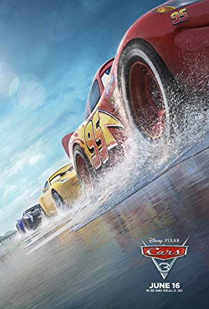 movie poster of Cars 3