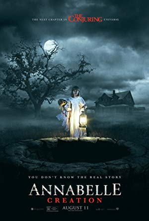 movie poster of Annabelle: Creation