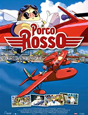 movie poster of Porco Rosso