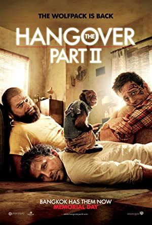 movie poster of The Hangover Part II