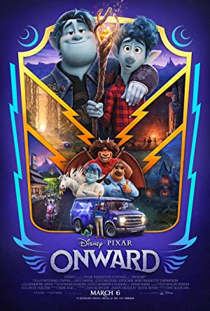 movie poster of Onward