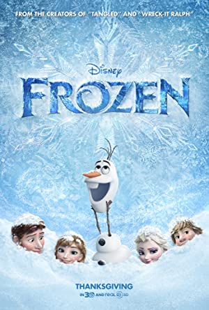 movie poster of Frozen