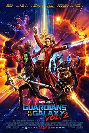 movie poster of Guardians of the Galaxy Vol. 2