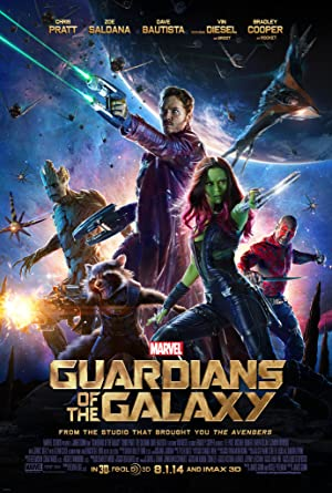 movie poster of Guardians of the Galaxy