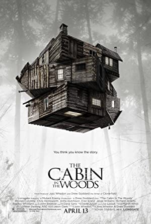 movie poster of The Cabin in the Woods streaming (where to watch online?)