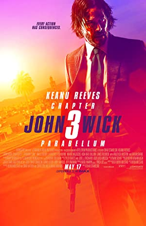 movie poster of John Wick 3: Implacável (John Wick: Chapter 3 - Parabellum)