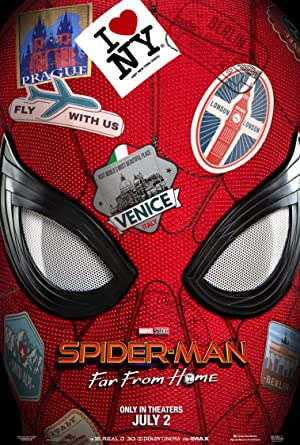 movie poster of Homem-Aranha: Longe De Casa (Spider-Man: Far from Home)