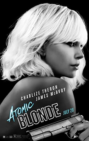 movie poster of Atomic Blonde