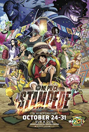 movie poster of One Piece: Stampede