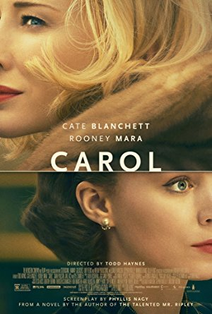 movie poster of Carol