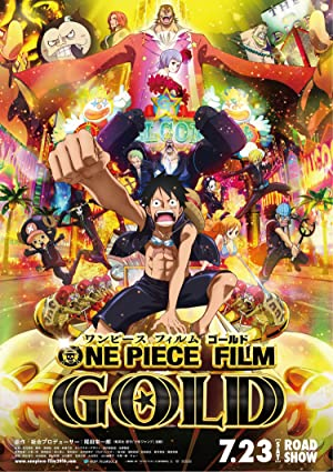 movie poster of One Piece Film: Gold