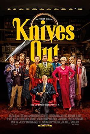 movie poster of Knives Out streaming (where to watch online?)