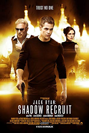 movie poster of Jack Ryan: Shadow Recruit