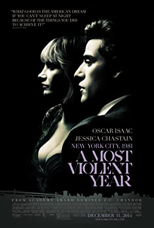 movie poster of A Most Violent Year
